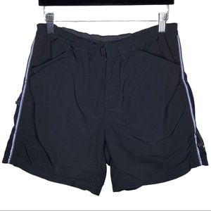 REI Piedra Black Padded Cycle Shorts size Large